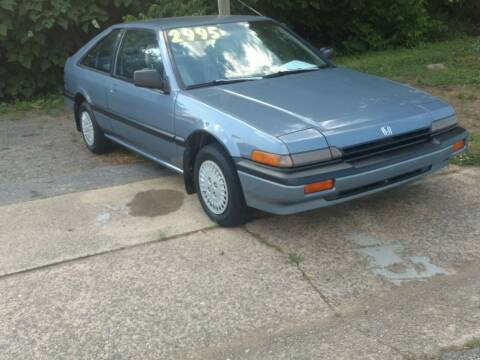 1986 Honda Accord for sale at IMPORT MOTORSPORTS in Hickory NC