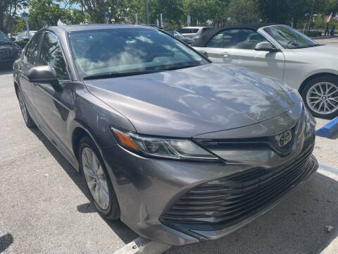 2019 Toyota Camry for sale at DORAL HYUNDAI in Doral FL