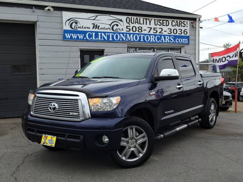 2011 Toyota Tundra for sale at Clinton MotorCars in Shrewsbury MA