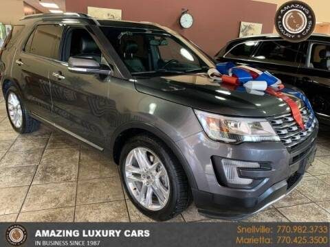 2016 Ford Explorer for sale at Amazing Luxury Cars in Snellville GA