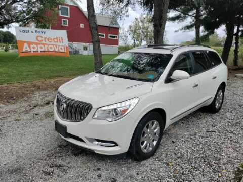 2015 Buick Enclave for sale at Caulfields Family Auto Sales in Bath PA