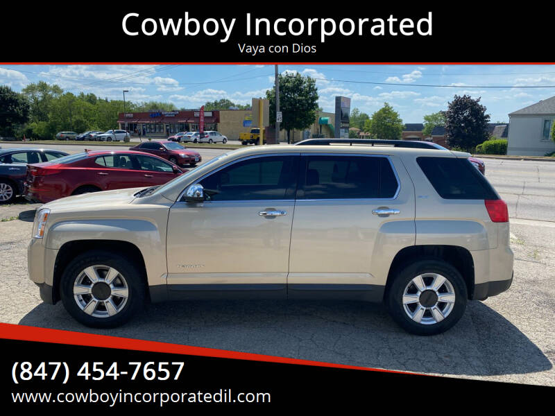 2011 GMC Terrain for sale at Cowboy Incorporated in Waukegan IL