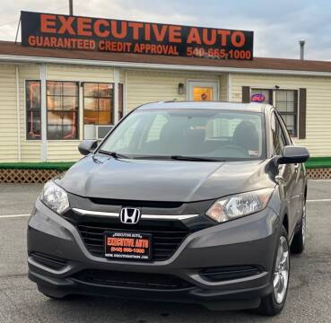 2018 Honda HR-V for sale at Executive Auto in Winchester VA