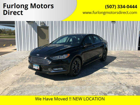 2018 Ford Fusion for sale at Furlong Motors Direct in Faribault MN