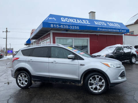 2014 Ford Escape for sale at Gonzalez Auto Sales in Joliet IL