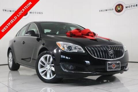 2016 Buick Regal for sale at INDY'S UNLIMITED MOTORS - UNLIMITED MOTORS in Westfield IN