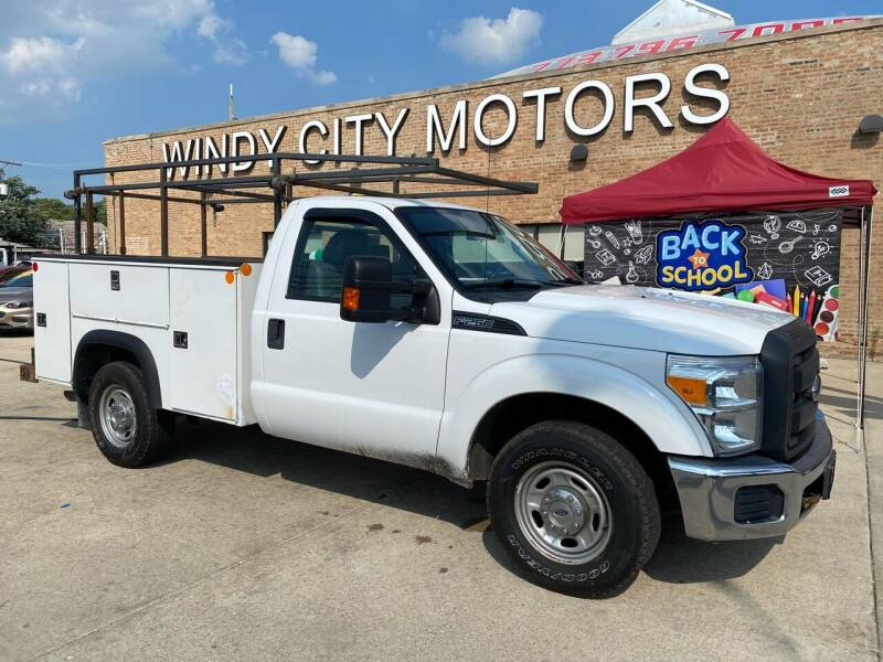 2014 Ford F-250 Super Duty for sale at Windy City Motors in Chicago IL