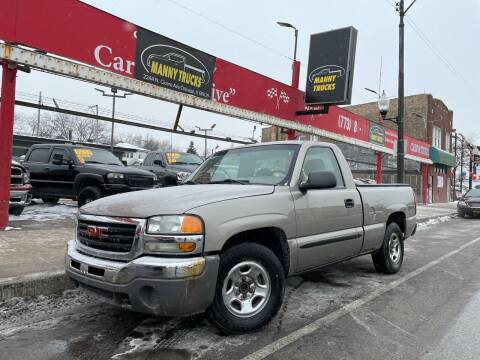 2003 GMC Sierra 1500 for sale at Manny Trucks in Chicago IL