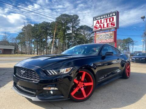 2016 Ford Mustang for sale at Carafello's Auto Sales in Norfolk VA