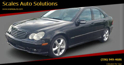 2006 Mercedes-Benz C-Class for sale at Scales Auto Solutions in Madison NC