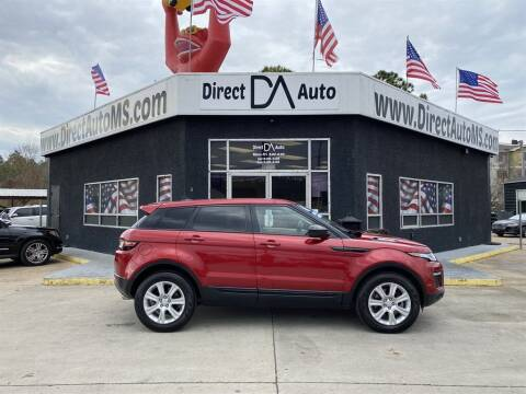 2016 Land Rover Range Rover Evoque for sale at Direct Auto in D'Iberville MS