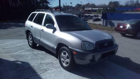 2004 Hyundai Santa Fe for sale at Georgia Certified Motors in Stockbridge GA