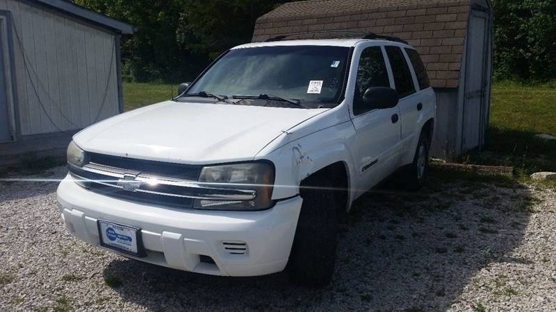 2002 Chevrolet TrailBlazer for sale at New Start Motors LLC - Rockville in Rockville IN