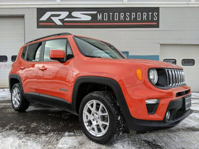 2019 Jeep Renegade for sale at RS Motorsports, Inc. in Canandaigua NY