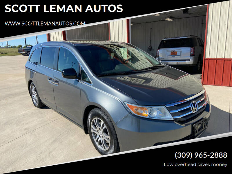 2011 Honda Odyssey for sale at SCOTT LEMAN AUTOS in Goodfield IL