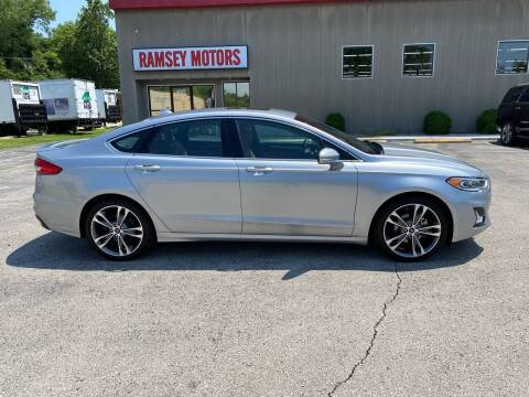 2020 Ford Fusion for sale at Ramsey Motors in Riverside MO