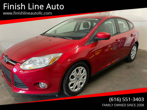 2012 Ford Focus for sale at Finish Line Auto in Comstock Park MI