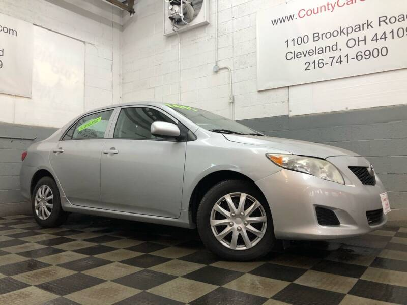 2010 Toyota Corolla for sale at County Car Credit in Cleveland OH