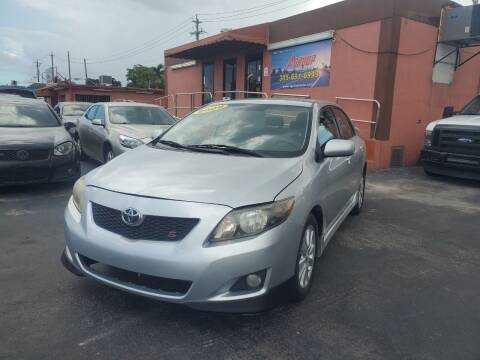 2009 Toyota Corolla for sale at A Group Auto Brokers LLc in Opa-Locka FL
