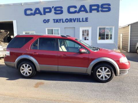 2009 Ford Taurus X for sale at Caps Cars Of Taylorville in Taylorville IL