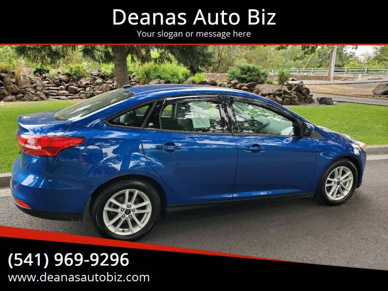 2018 Ford Focus for sale at Deanas Auto Biz in Pendleton OR