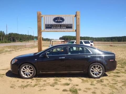 2008 Chevrolet Malibu for sale at Elk Creek Motors LLC in Park Rapids MN