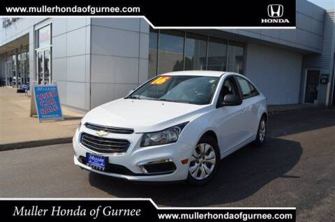 2016 Chevrolet Cruze Limited for sale at RDM CAR BUYING EXPERIENCE in Gurnee IL
