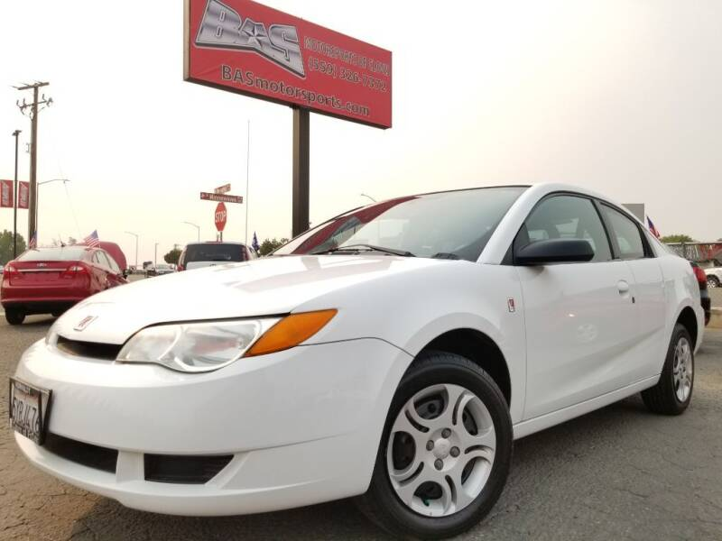 2005 Saturn Ion for sale at BAS MOTORSPORTS in Clovis CA