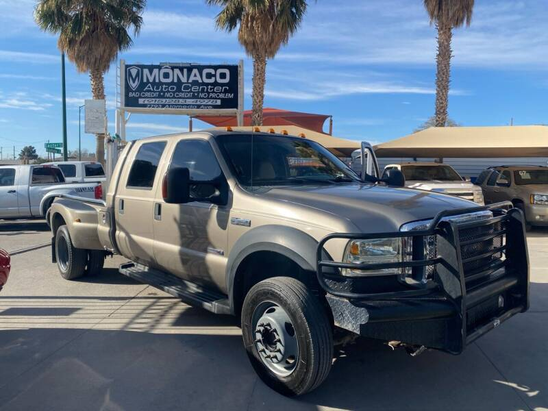 2006 Ford F-450 Super Duty for sale at Monaco Auto Center LLC in El Paso TX