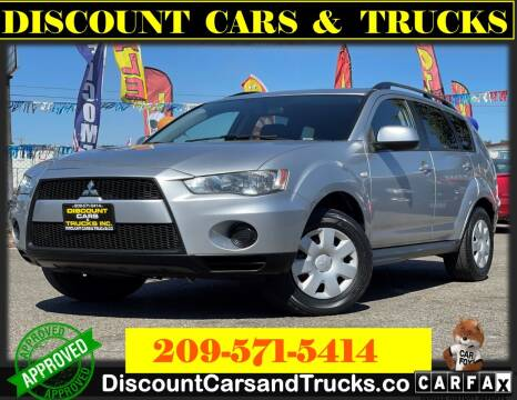 2011 Mitsubishi Outlander for sale at Discount Cars & Trucks in Modesto CA