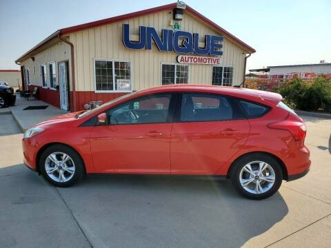 "2013 Ford Focus for sale at UNIQUE AUTOMOTIVE ""BE UNIQUE"" in Garden City KS"