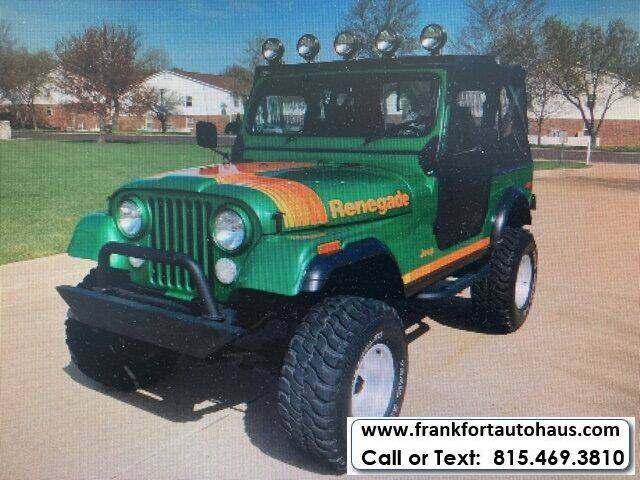 1979 Jeep CJ-7 for sale in Frankfort, IL