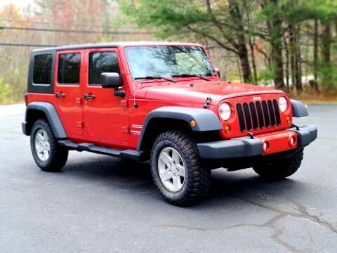 2010 Jeep Wrangler Unlimited for sale at Flying Wheels in Danville NH