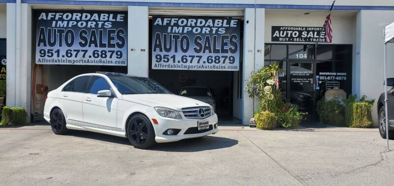 2010 Mercedes-Benz C-Class for sale at Affordable Imports Auto Sales in Murrieta CA