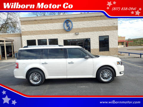 2017 Ford Flex for sale at Wilborn Motor Co in Fort Worth TX