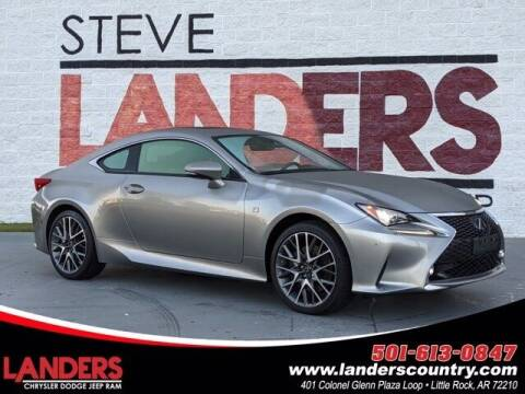 2018 Lexus RC 300 for sale at The Car Guy powered by Landers CDJR in Little Rock AR
