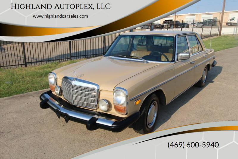 1975 Mercedes-Benz 300-Class for sale at Highland Autoplex, LLC in Dallas TX