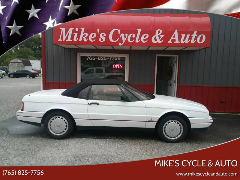 1992 Cadillac Allante for sale at MIKE'S CYCLE & AUTO in Connersville IN
