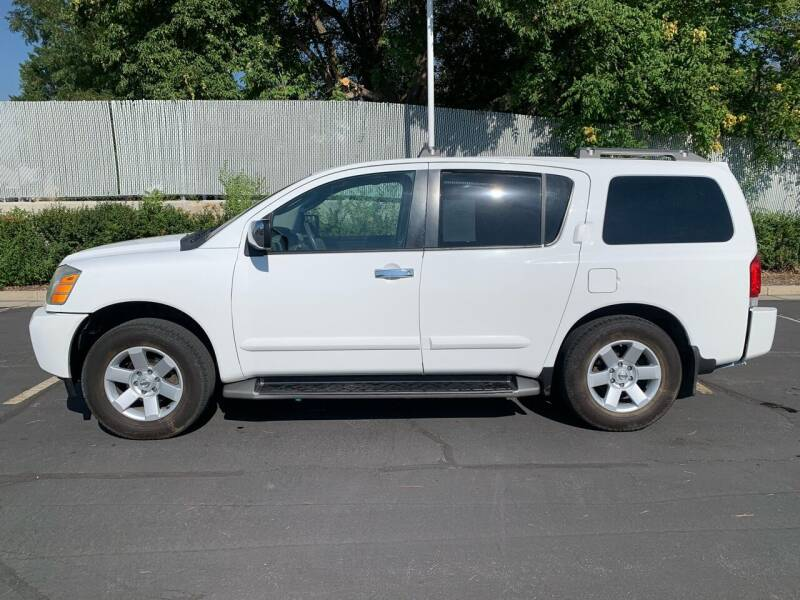 2004 Nissan Armada for sale at BITTON'S AUTO SALES in Ogden UT