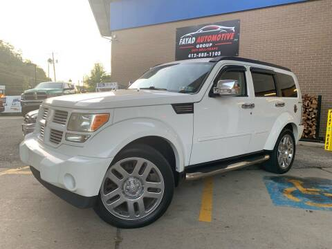 2011 Dodge Nitro for sale at FAYAD AUTOMOTIVE GROUP in Pittsburgh PA