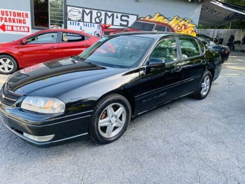 2005 Chevrolet Impala for sale at M&M's Auto Sales & Detail in Kansas City KS