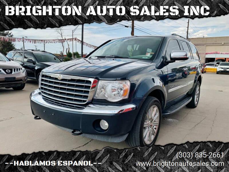 2008 Chrysler Aspen for sale at BRIGHTON AUTO SALES INC in Brighton CO