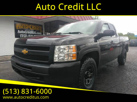 2013 Chevrolet Silverado 1500 for sale at Auto Credit LLC in Milford OH