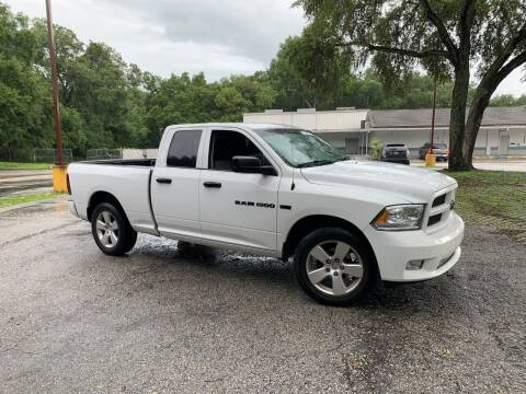 2012 RAM Ram Pickup 1500 for sale at Royal Auto Mart in Tampa FL