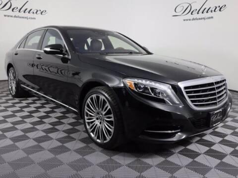 2017 Mercedes-Benz S-Class for sale at DeluxeNJ.com in Linden NJ
