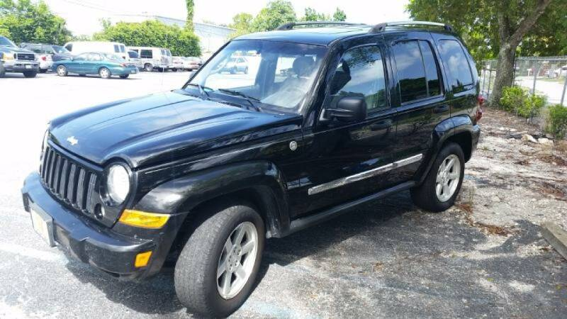 2005 Jeep Liberty for sale at AUTO CARE CENTER in West Palm Beach FL