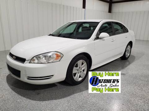 2010 Chevrolet Impala for sale at Hatcher's Auto Sales, LLC - Buy Here Pay Here in Campbellsville KY