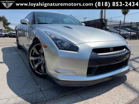 2009 Nissan GT-R for sale at Loyal Signature Motors Inc. in Van Nuys CA
