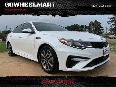 2020 Kia Optima for sale at GOWHEELMART in Leesville LA
