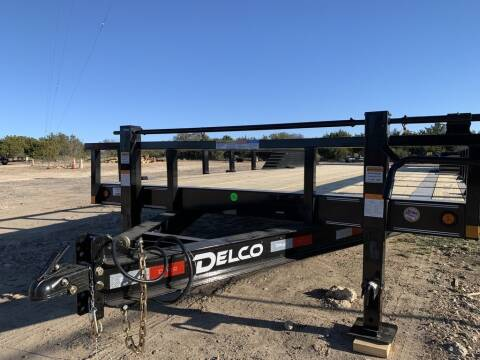 """2021 DELCO - Drive Over Fender 102""""x for sale at LJD Sales in Lampasas TX"""